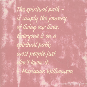 Wisdom Wednesday ~ A Quote from Marianne Williamson