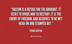 Inspirational Quotes About Racism