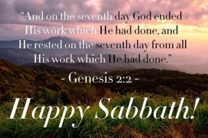 Gen 2:2 KJV (2) And on the seventh day God ended his work which he had ...