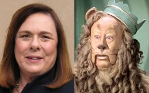 Candy Crowley and the Cowardly Lion