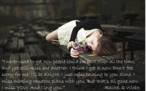 Dear Best Friend, I miss you. Quote