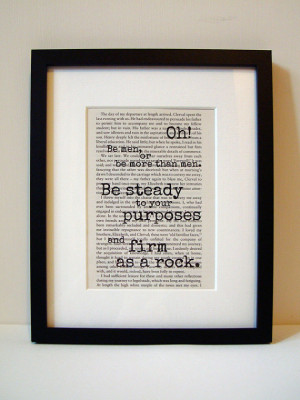 Frankenstein - Book Quote Print - Inspirational Quote - Birthday Gift ...
