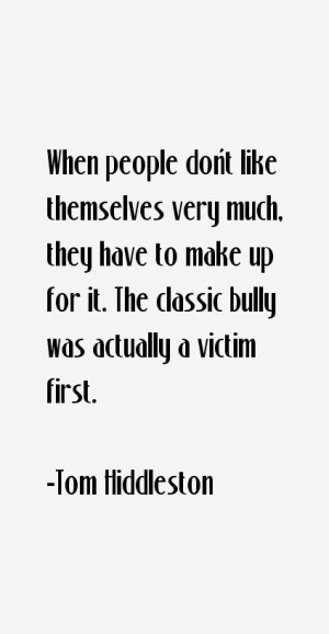 Tom Hiddleston Quotes & Sayings