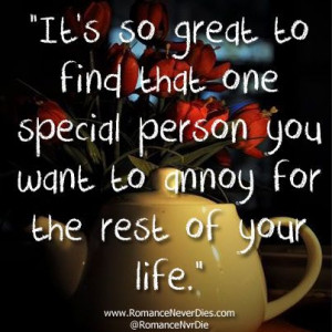 One Special Person Quotes