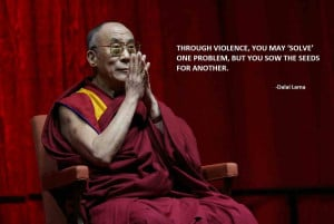 Dalai Lama quotes about peace