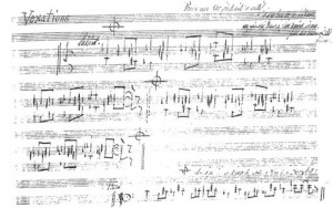 Satie's Vexations