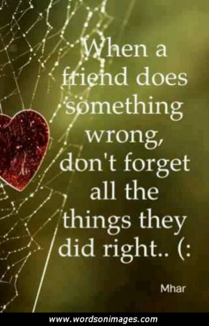 Friendship forgiveness quotes