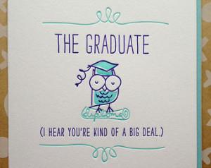 Funny Congratulations Graduation Quotes Graduation card - class of