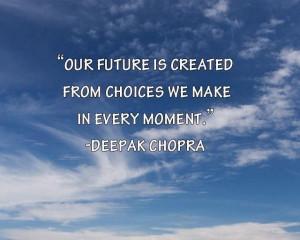 Deepak chopra quo...