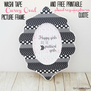 Love Picture Frames With Quotes And Sayings: Girl Loves Glam Design In ...