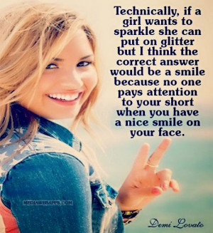 lovato smile quotes marilyn monroe smile quotes quotes about smile ...