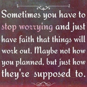 Just Have Faith Without Doubt