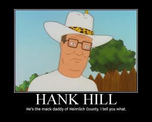 hank hill from king of the hill hank has a hard time expressing his ...