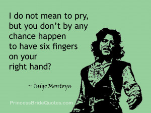 do not mean to pry, but you don't by any chance happen to have six ...