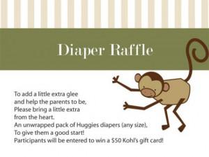 diaper raffle