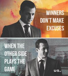 winners don t make excuses when the other side plays the game