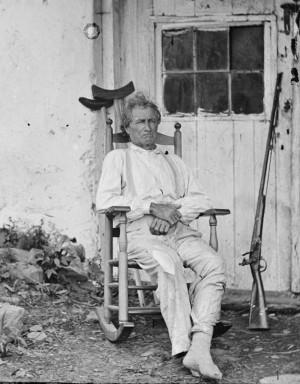 John Burns, Hero at the Battle of Gettysburg by Timothy H. O'Sullivan