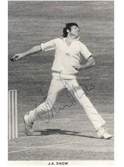 people speak of great English fast bowlers inevitably Harold Larwood ...