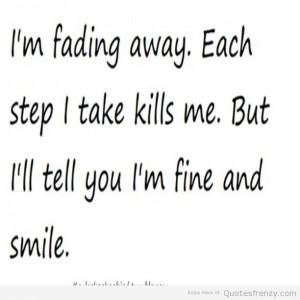 Faking Depression Quotes
