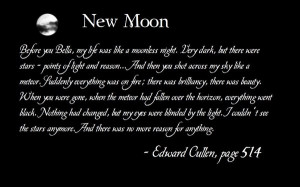 New Moon Quote Wall by Loesie