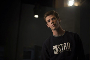 ... the Flash because he is worried about the extent of Barry's powers