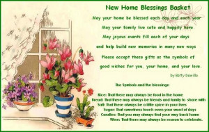 """Printable """"New Home Blessings Basket"""" Poems"""
