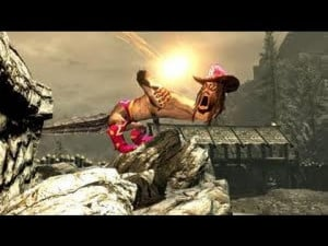 Skyrim Macho Man Randy Savage Dragon Mod Funny Popscreen
