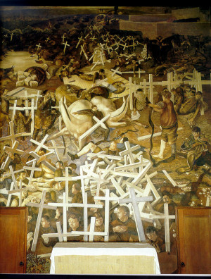 stanley spencer the resurrection of the soldiers c 1920sto mark