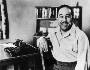 American poet and writer Langston Hughes (1902 – 1967). Photo by ...