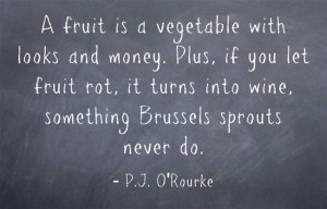 Vegetable Funny Quote