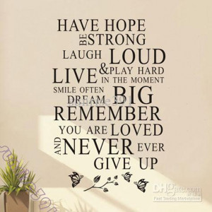 Have Hope Quotes