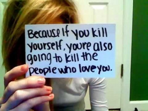 anti suicide quotes