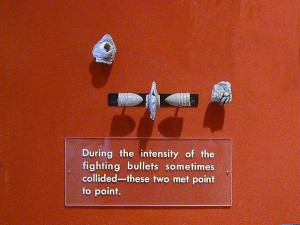 Bullets or Minie Balls that collided in mid-air at Petersburg ...