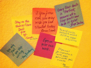 Sticky Notes And Quotes
