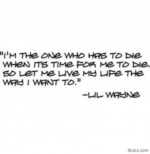 Related Pictures lil wayne quotes