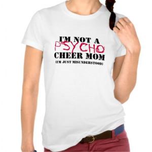 Cheer Mom T Shirts