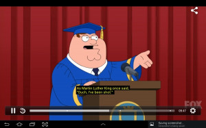 Great quote by Peter griffin