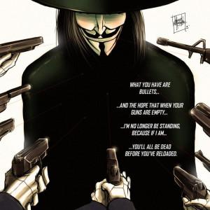for Vendetta, Allan Moore