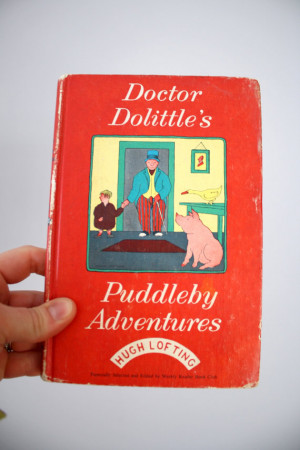 1952 Doctor Dolittle's Puddleby Adventures by Hugh Lofting