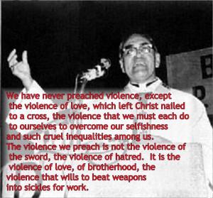 30th anniversary of Romero's assassination