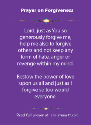 """... my transgressions to the Lord,"""" and you forgave the guilt of my sin"""