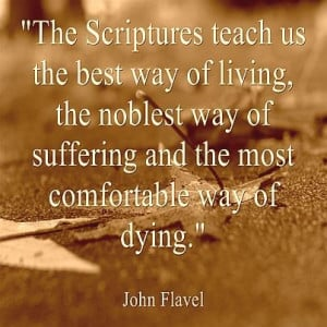 Living, suffering and dying...