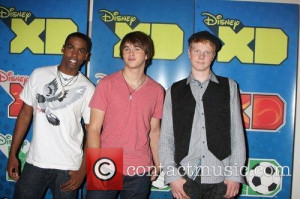 Stock Photo Daniel Curtis Lee With Hutch Dano And Adam Hicks At The