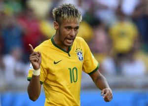 Neymar, Brazil footballer in the 2014 FIFA World Cup