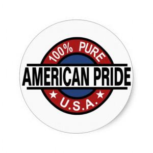 American Pride Stickers