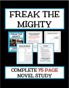 A review of rodman philbricks story freak the mighty