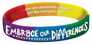 Home Jewelry Embrace Our Differences Bracelet
