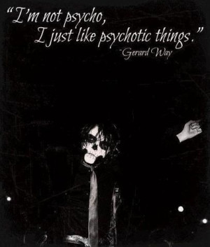 My Chemical Romance ~ Gerard Way
