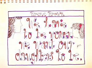 Brene Brown, Day 76/365 of Quote Illustrations/Hand-Letterings