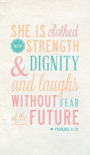 laugh without fear of the future